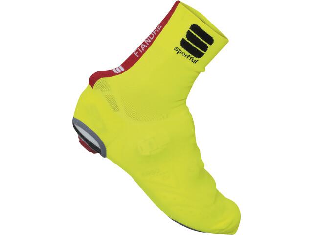 Sportful Fiandre Knit Skoovertræk gul | shoecovers_clothes